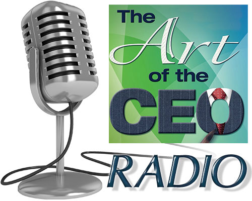 The Art of the CEO Radio logo